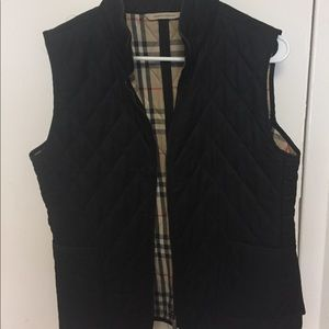 Burberry Black Vest
